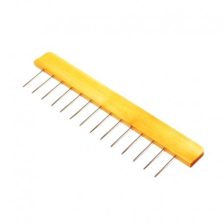 Ebru meno šukos - 2,5 cm tarpai