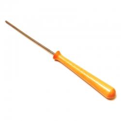 Ebru lazdelė 3mm storio, chromuota