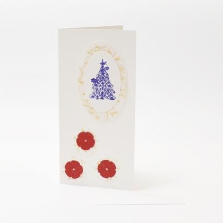 Kalėdinis Naujametinis atvirukas KA4
